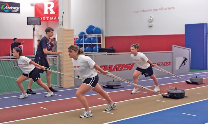 Parisi Speed School - Akron: Three Sports Performance Sessions, or One Assessment and Two Sessions at Parisi Speed School (Up to 79% Off)