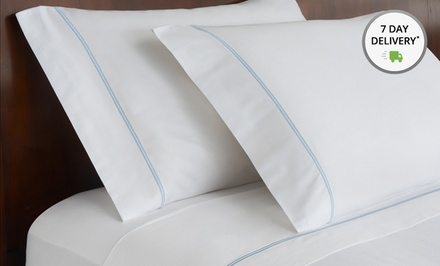 Hotel Collection 600 Thread Count 4-Piece Sheet Set. Five Colors Available. Free Returns.