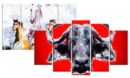 Animal Artwork on Gallery-Wrapped Canvas