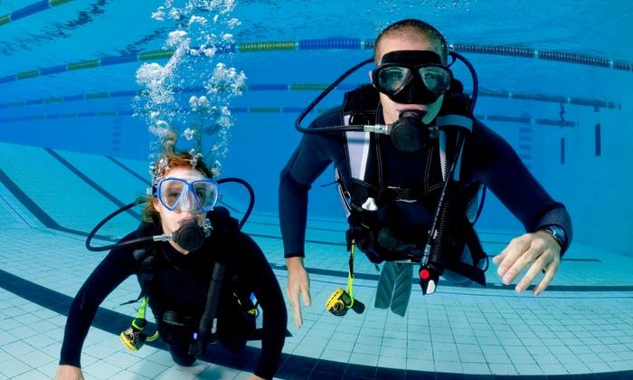 Scuba Dive It Inc. - Powerline Copins Commerce Center: PADI Discover Scuba Beach Diving Program or PADI Open Water Course at Scuba Dive It Inc. (Up to 51% Off)