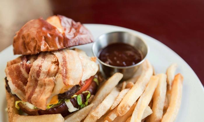Outpost American Tavern - Dallas: Upscale Pub Dinner for Two or Four at Outpost American Tavern (Up to 48% Off)