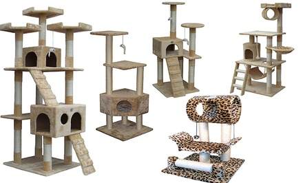 Go Pet Club Cat Trees from $49.99–$89.99