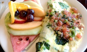 New Day Cafe: $13 for $20 Worth of Diner Food and Drinks for Two or More People at New Day Cafe