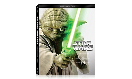 Star Wars Trilogy: Episodes I-III on Blu-ray and DVD ccd06e5e-205a-11e7-b03b-002590604002