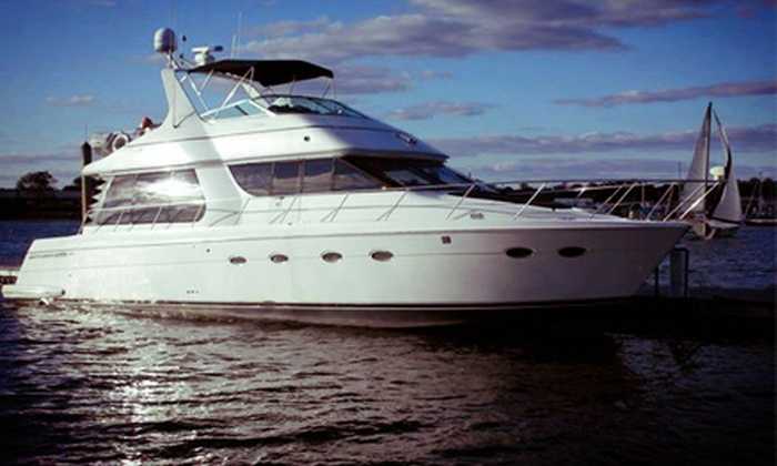 So Fine Charters - Financial District: $1,999 for a BYOB Private Yacht Tour of New York City with Hors d'Oeuvres for Six from So Fine Charters ($3,500 Value)