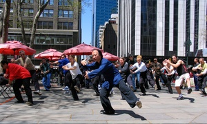Up to 75% Off Tai Chi Classes at CK Chu Tai Chi, plus Up to 6.0% Cash Back from Ebates.