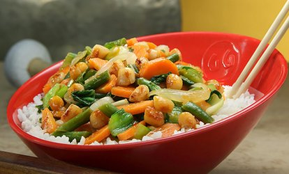 image for $20 or $40 Worth of Asian Stir Fry at Genghis Grill (Up to 40% Off)