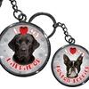 iLeesh I Love My Dog Keychains