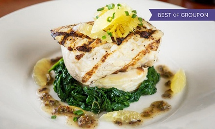 $25 for $40 Worth of Upscale Contemporary American Cuisine for Dinner at Trio Bistro