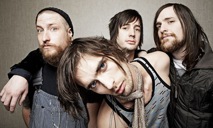The All-American Rejects for Two at Musikfest's Sands Steel Stage on Saturday, August 2, at 7 p.m. (Up to 41% Off)