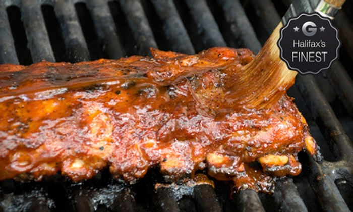 Porters Lake Pub & Grill - Porters Lake: Surf 'n' Turf or Ribs Meal for Two or Four or $20 for $40 Worth of Pub Food at Porters Lake Pub & Grill