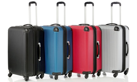 3-Piece Hard-Case Spinner-Wheel Luggage Set
