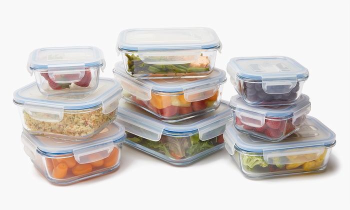 Ovenproof Gl Food Storage Set 6 8 10