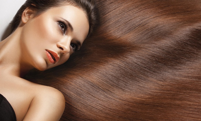 T Louise Hair Studio - Westside Connection: Keratin Straightening Treatment from T Louise Hair Studio (60% Off)