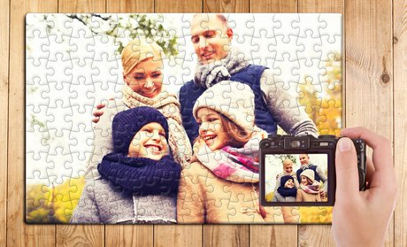 Customizable Photo Puzzle