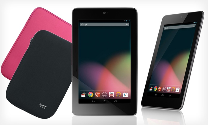 ASUS Nexus 7 32GB Tablet with Free Case: $248.99 for an ASUS Nexus 7 32GB Tablet with Free Black or Pink Case ($260 List Price). Free Shipping and Free Returns.