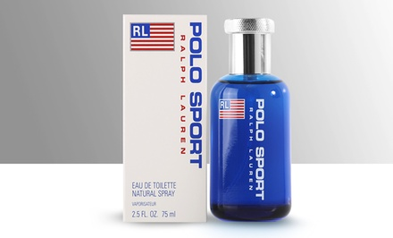 groupon daily deal - Ralph Lauren Polo Sport Eau de Toilette for Men; 2.5 Fl. Oz.