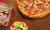 Cici's Pizza - Multiple Locations: Pizza Buffet and 32 Oz. Soda and 8 Tokens for Two or Four People at CiCi's Pizza (Up to 44% Off)