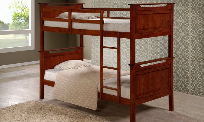 Larry Solid Wood Bunk Bed