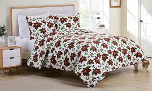 Christmas Holiday Quilt Set (3-Piece)