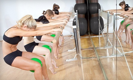 5 or 10 Booty Barre™ Classes at Breathe Pilates Studio (Up to 67% Off)