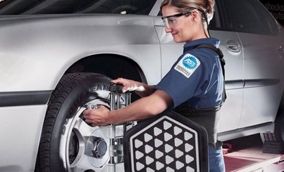 image for All-Wheel Alignment Package or Road Trip Ready Package at Sears Auto Center (Up to 41% Off)