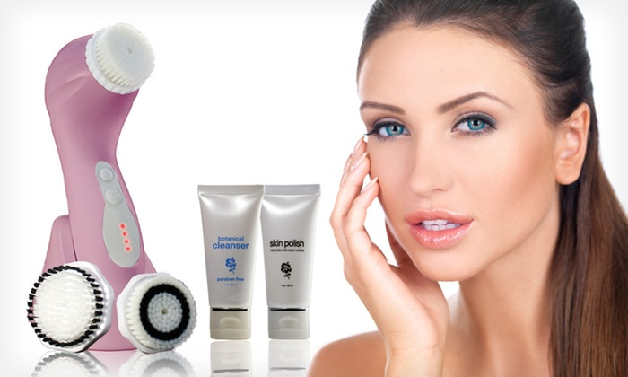 Facial Cleansing and Exfoliating Set: $59 for a ProSonic Cleansing and Exfoliation Brush Set ($204 List Price). Free Shipping and Free Returns.