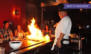 Osaka Summerlin: Hibachi Dinner and Drinks for Two, Four, or Six at Osaka Summerlin (Up to 46% Off)