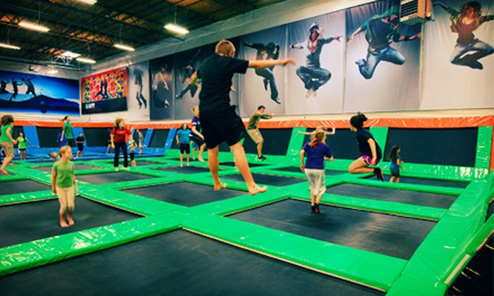 Elevated Sportz - Bothell-Mill Creek: Jump and Play Sessions or AIRobics Classes at Elevated Sportz (Half Off). Four Options Available.