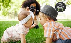 Preto e Branco Estúdio Fotográfico: Preto e Branco Estúdio Fotográfico - Águas Claras: ensaio fotográfico + fotos em CD + impressas + 1 pôster (20 x 30 cm)