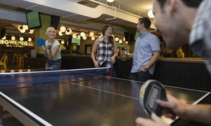 The Ball Room Sports Bar: Two Hours of Pool, Ping Pong or Snooker and Cheese Nachos Platterfor Up to Six at The Ball Room Sports Bar (47% Off)