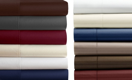 1,000TC Egyptian-Cotton-Blend 4-Piece Sheet Set