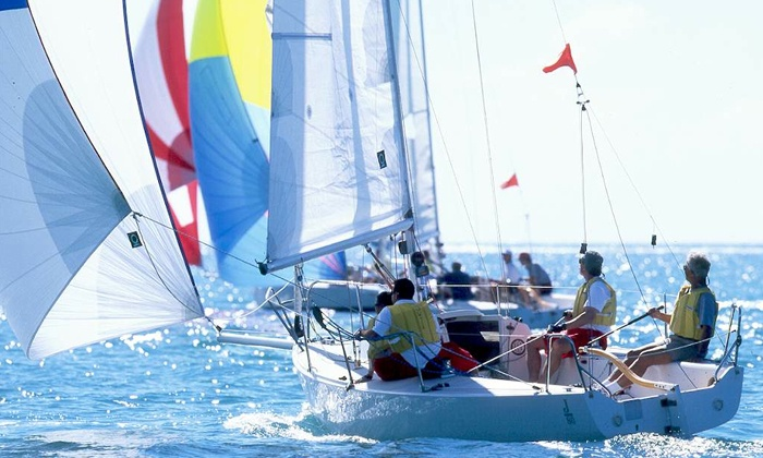 South Bay Sailing - Redondo Beach: 90-Minute Group Sailing Lesson for One or Two from South Bay Sailing (Up to 53% Off)