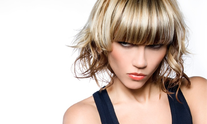 Hair by Lorian - Central Area: Cut and Conditioning Treatment with Optional Scalp Massage and Color or Highlights at Hair by Lorian (Up to 55% Off)