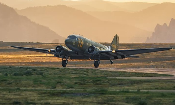 Greatest Generation Aircraft - American Aero: 30-Minute Scenic Daylight Fall Flight in Douglas C-47 for One or Two from Greatest Generation  (Up to 60% Off)