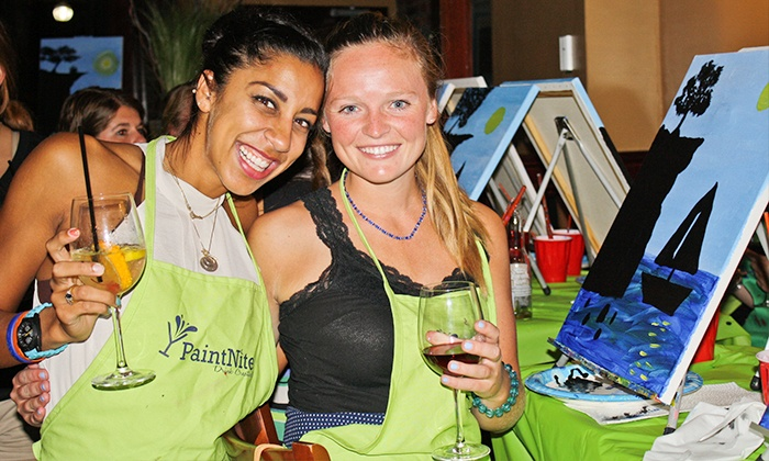 Paint Nite - Midtown: $25 for Two-Hour Social Painting Event from Paint Nite ($45 Value)
