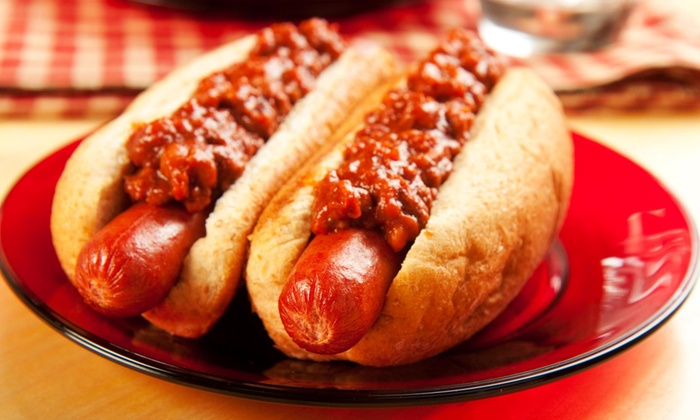 Sizzle Dogs - Sizzle Dogs: One Hot Dog with Purchase of 2 Hot Dogs at Sizzle Dogs