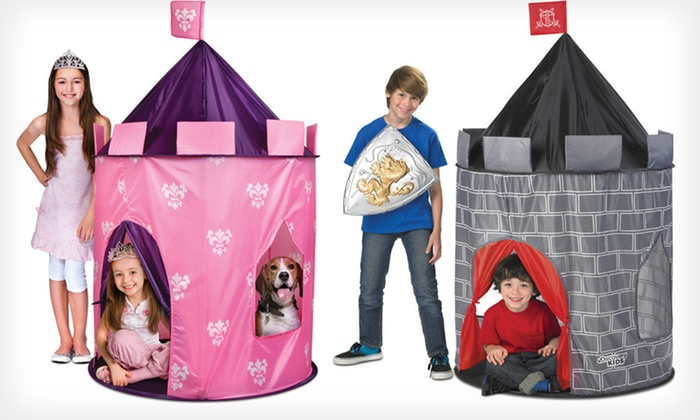 Discovery Kids Pop-Up Tent Castles $20 for a Discovery Kids Pop-Up ...  sc 1 st  Groupon : princess castle pop up tent - memphite.com