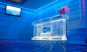 Ice Bar Madrid: Entrada para 2, 4 o 6 con cóctel de bienvenida y cócteles, cervezas, refrescos o zumos desde 19,95 € en Ice Bar Madrid