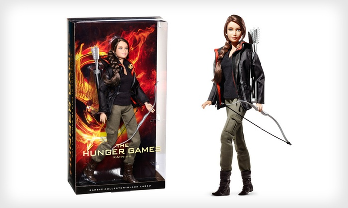 Barbie The Hunger Games Katniss Doll: $27 for Barbie Collector's Edition Hunger Games Katniss Doll with Shipping Included ($37.44 Total Value). Free Returns.