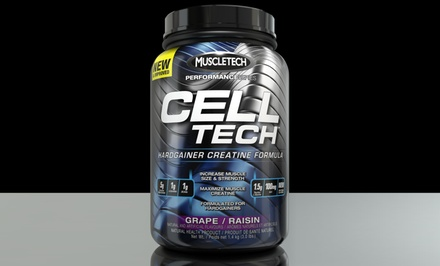 Hydroxycut Cell Tech Performance Series Muscle-Building Supplement; 3lbs. Multiple Flavors Available.