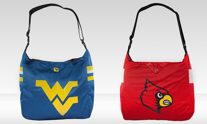 NCAA Team Jersey Tote: NCAA Team Jersey Tote. Multiple Teams Available. Free Returns.