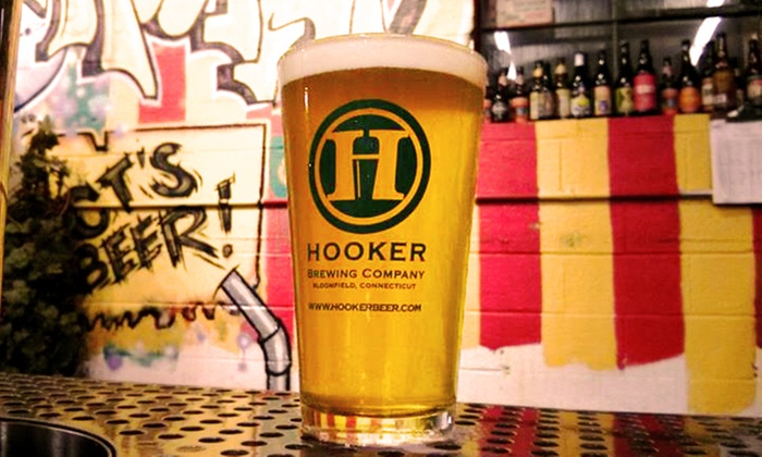 Thomas Hooker Brewery - Blue Hills: $18 for Tour, Tasting, and Pint Glasses for Four at Thomas Hooker Brewery ($36 Value)