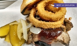 Angry Barbeque: Barbeque for Two or Four at Angry Barbeque (Up to 37% Off)