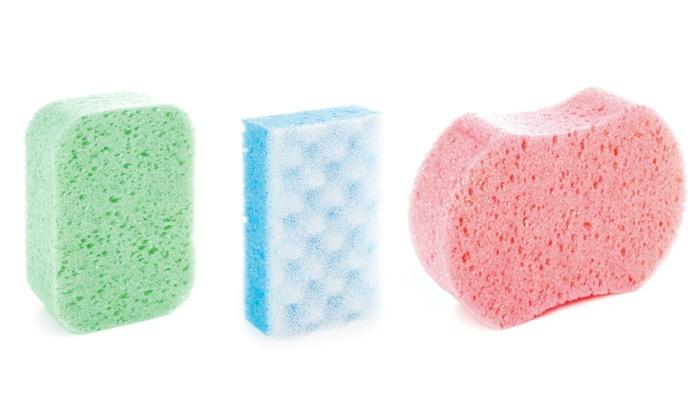 Set di 6 spugne da bagno | Groupon Goods