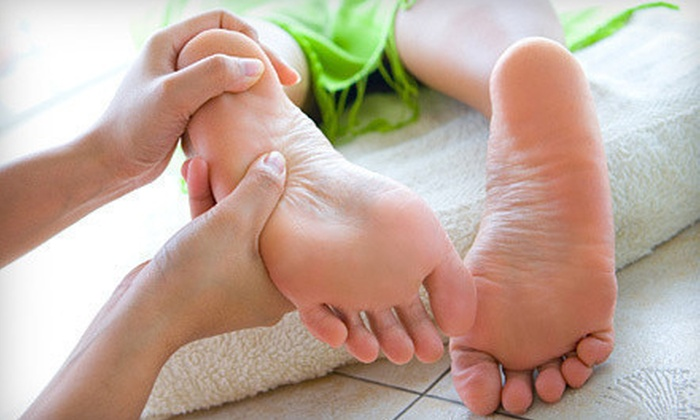 Massage One Spa - Central Escondido: Eastern Foot and Body Massage with Optional Premium Peptide Plus Facial at Massage One Spa in Escondido (Up to 66% Off)
