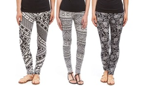 Junior's Black and White Printed Leggings (6-Pack) at Junior's Black and White Printed Leggings (6-Pack), plus 9.0% Cash Back from Ebates.