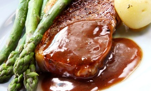George's Gaslight Inn : Two or Four Entrees at George's Gaslight Inn (Up to 47% Off