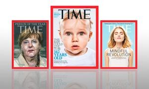TIME Magazine: TIME Magazine: un abonnement essai de 3, 6, 12 ou 24 mois
