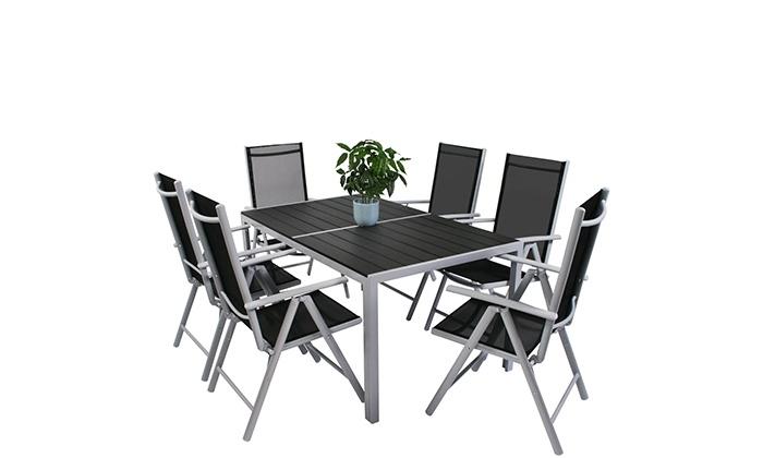 Gartentisch Mit 6 Stuhlen Groupon Goods